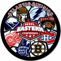 Шайба сувенирная Gufex NHL Atlantic Division