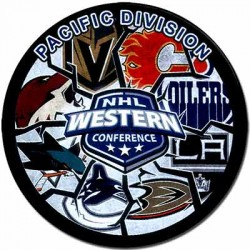 Шайба сувенирная Gufex NHL Pacific Division