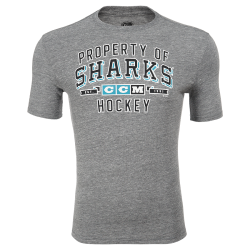 Футболка CCM Prop Block San Jose Sharks Sr